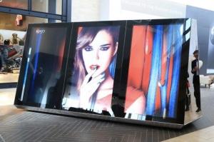 escaparates digitales para los espacios comerciales