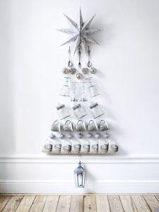 árboles de navidad originales y  sencillos