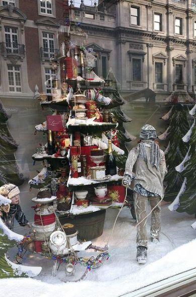 Escaparates de navidad sorprendentes y originales studio - Ideas escaparate navidad ...