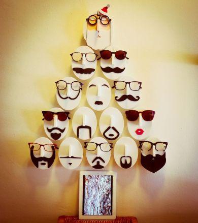 escaparates de navidad divertidos y singulares
