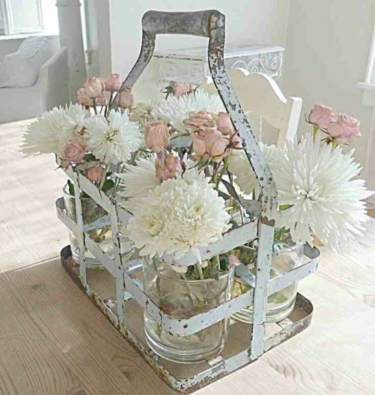 Decoraciones de escaparates con estilo Shabby Chic